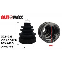BOOT INNER CV JOINT KIT 72X95X21