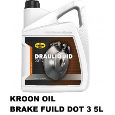 Drauliquid DOT 3 is a synthetic brake fluid